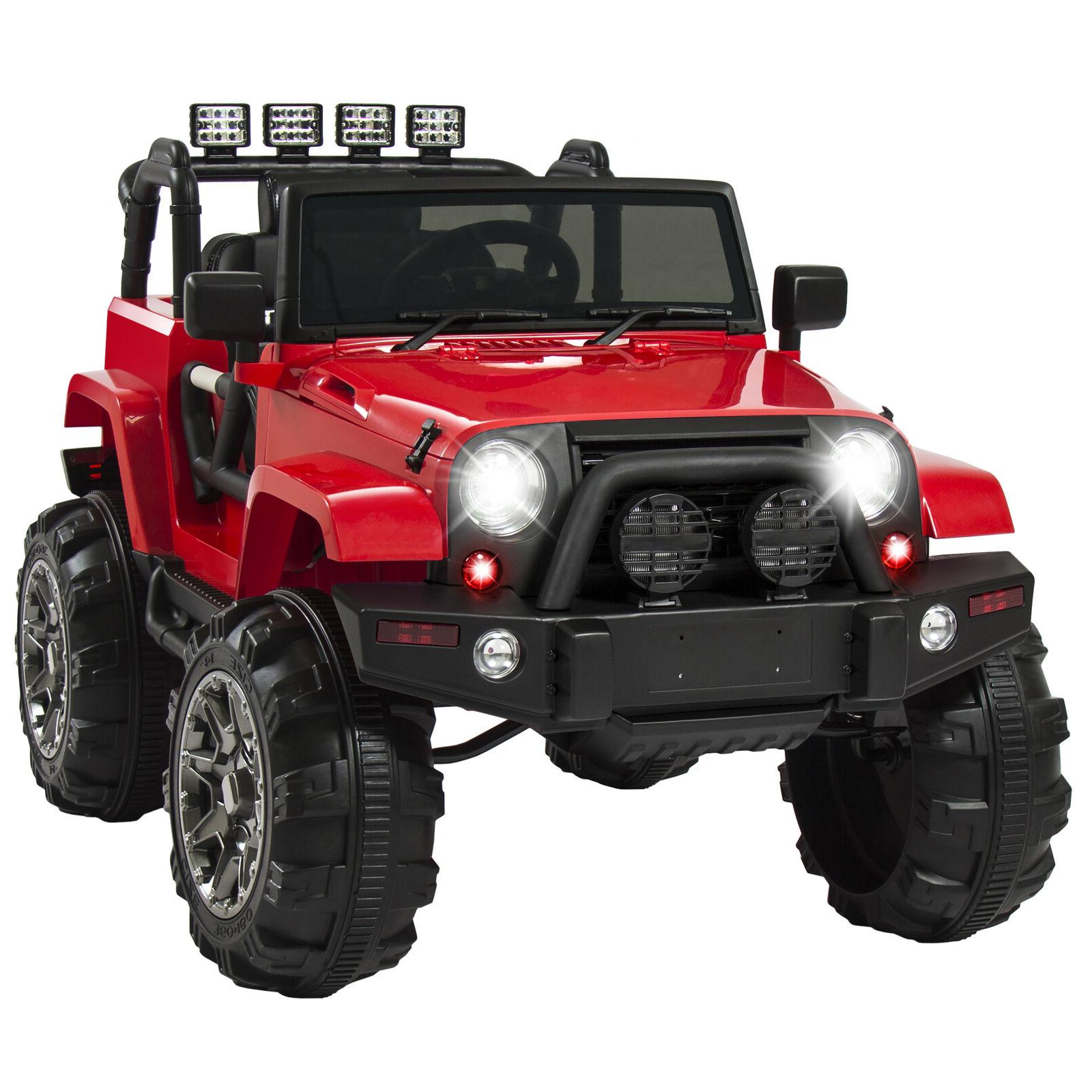 Power Jeep Ride On 12V RC Ride-On