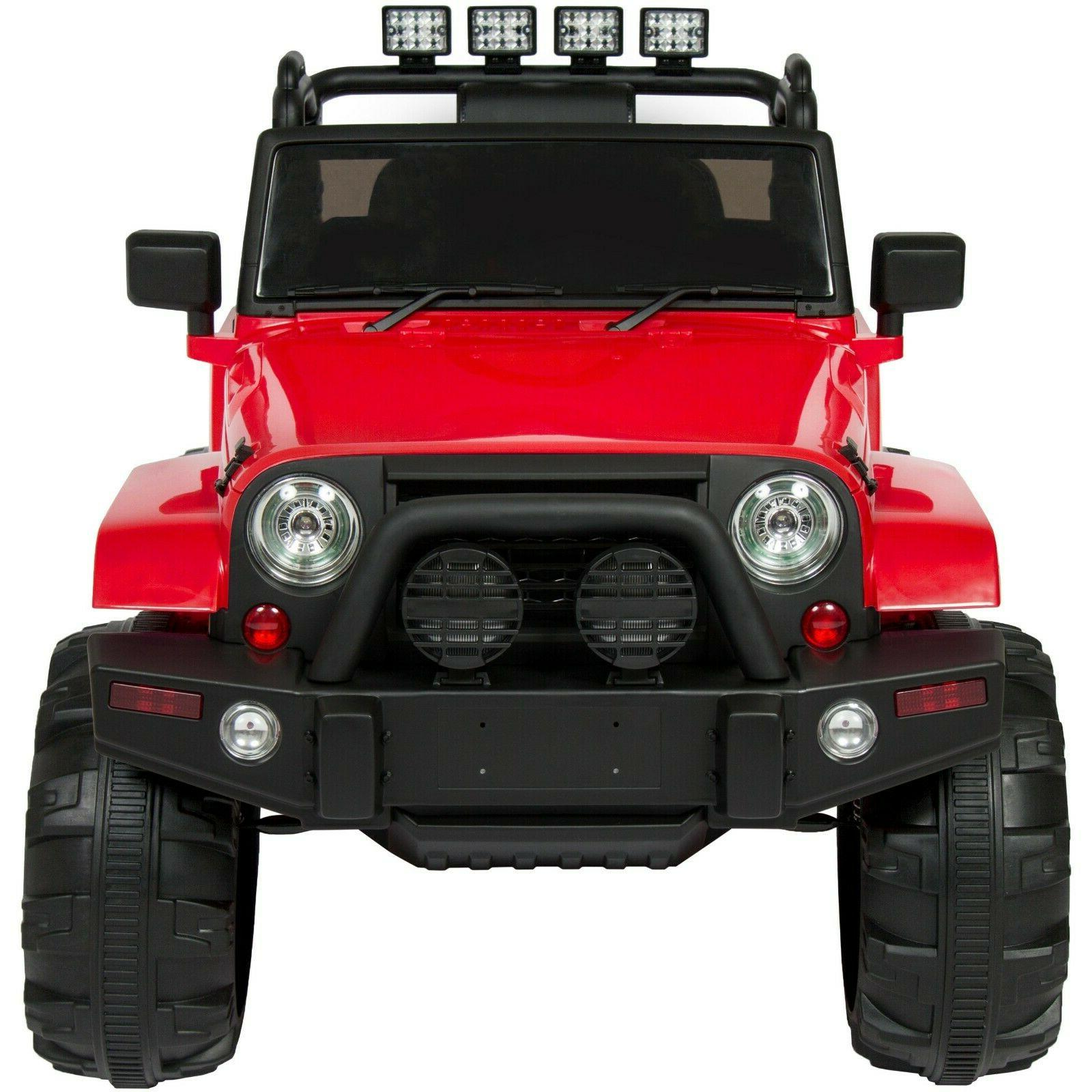 Power Boys Jeep Car Ride 12V RC