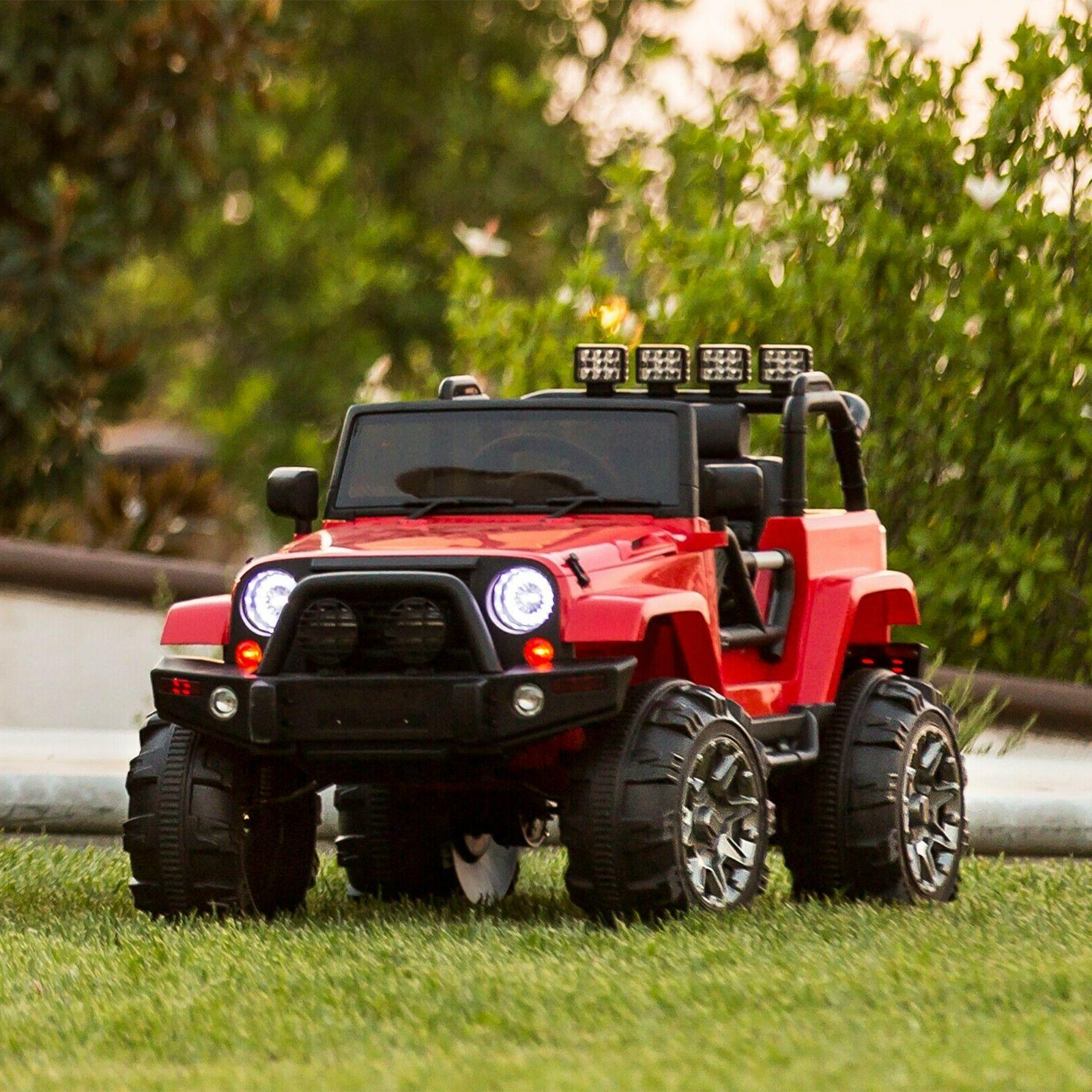 power wheels for boys jeep electric car
