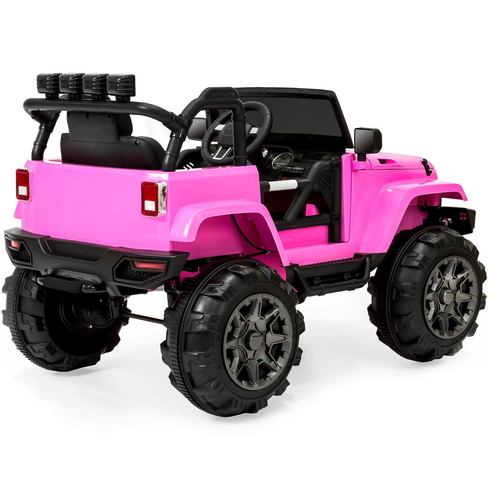 Power Wheels For Girl Jeep Electric Ride Toys 12V Ride-On