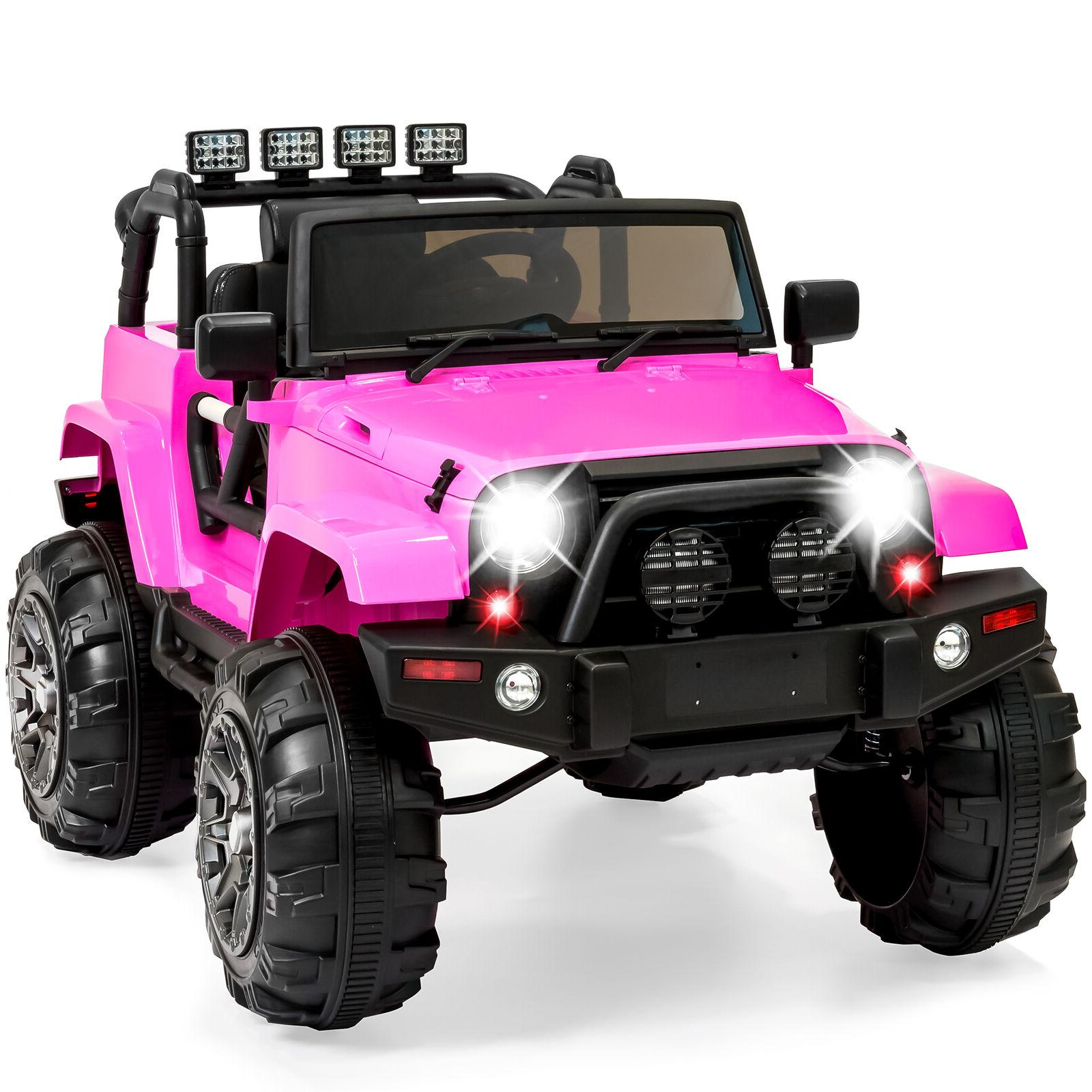 Power Girl Jeep Electric Ride 12V RC