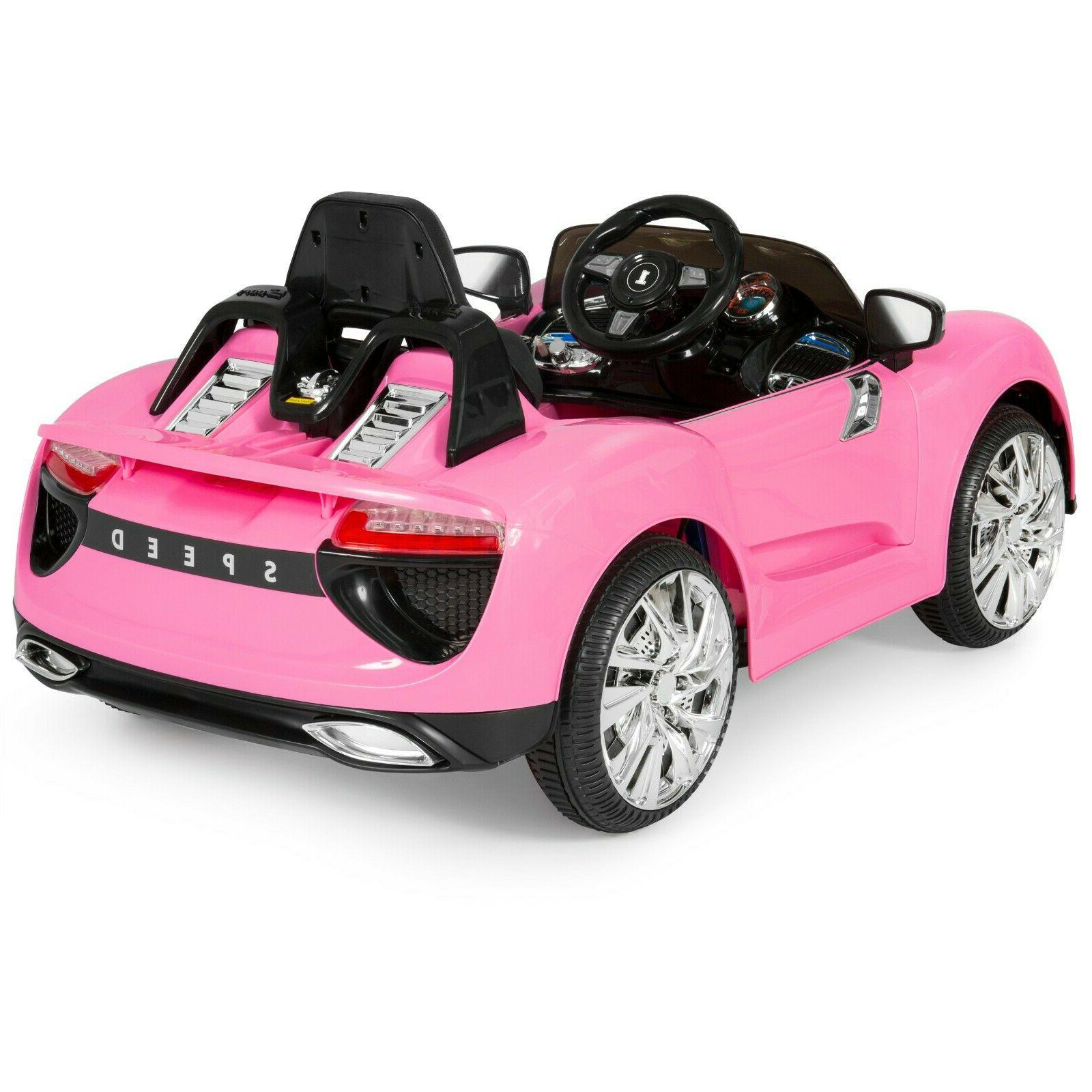 Power Wheels 12V Electric Kids Girl Riding Rideable Cute