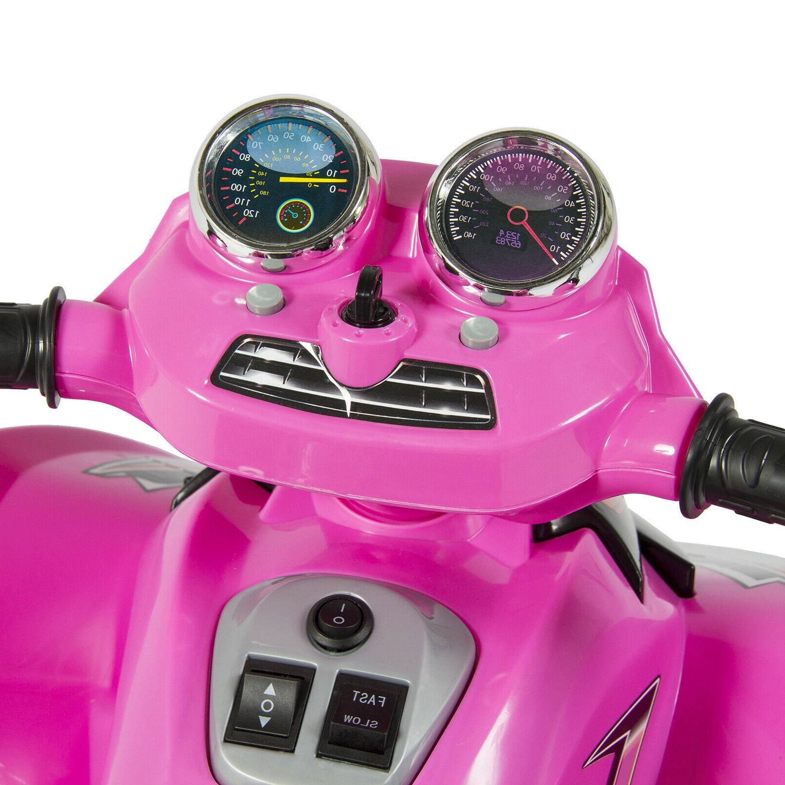 Power Wheels For 12V Kids Electric Quad Pink