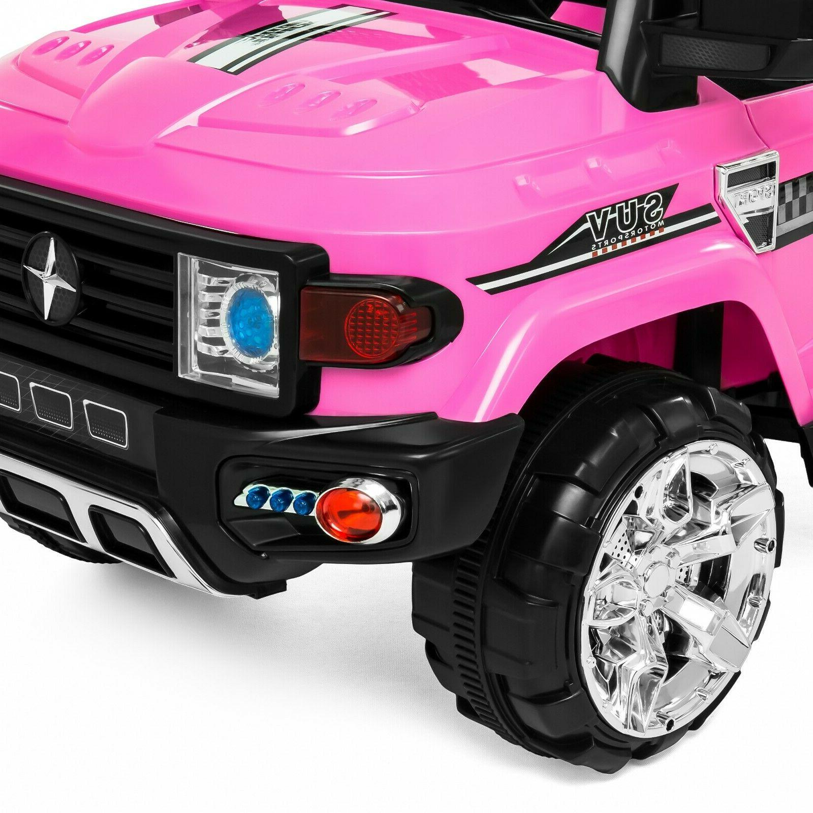 Power 12V Ride On Riding Toddler SUV