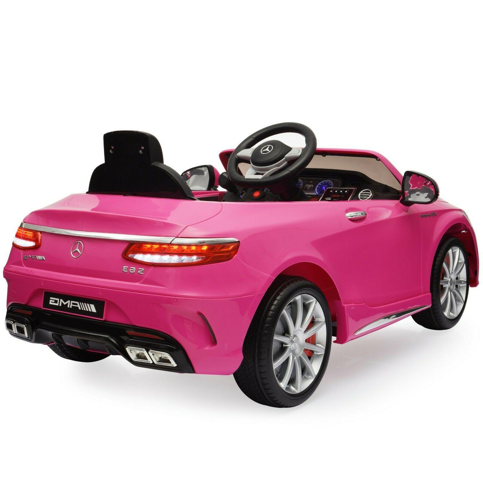 Power Wheels Mercedes Benz Kids Rideable Car Ride On