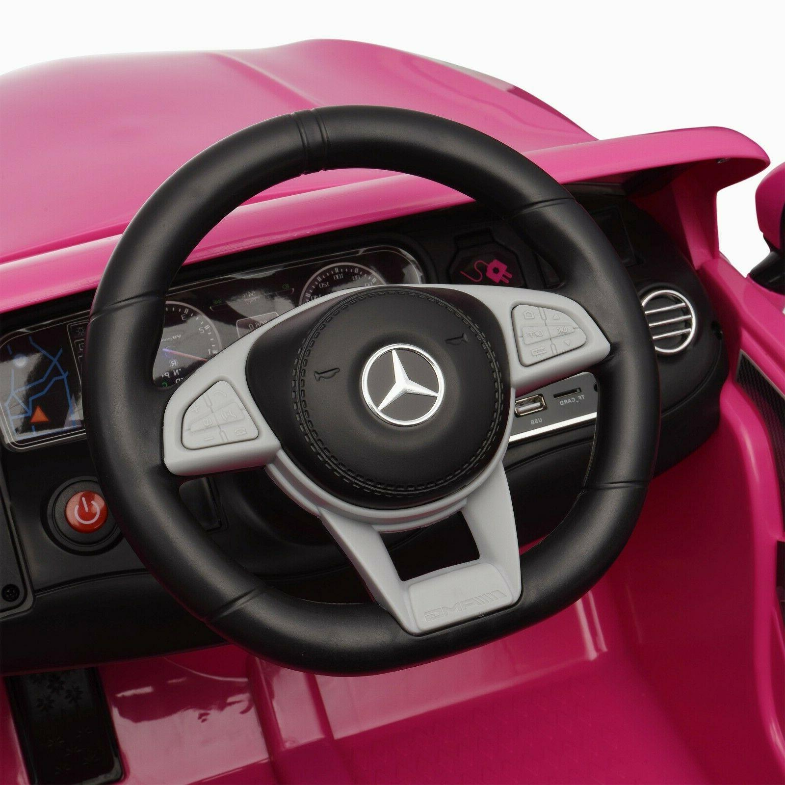 Power Wheels for Mercedes Benz Driveable Kids On