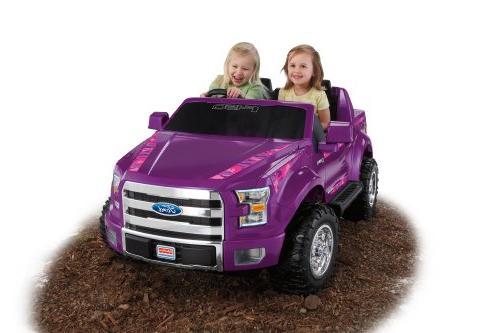 power wheels ford truck purple