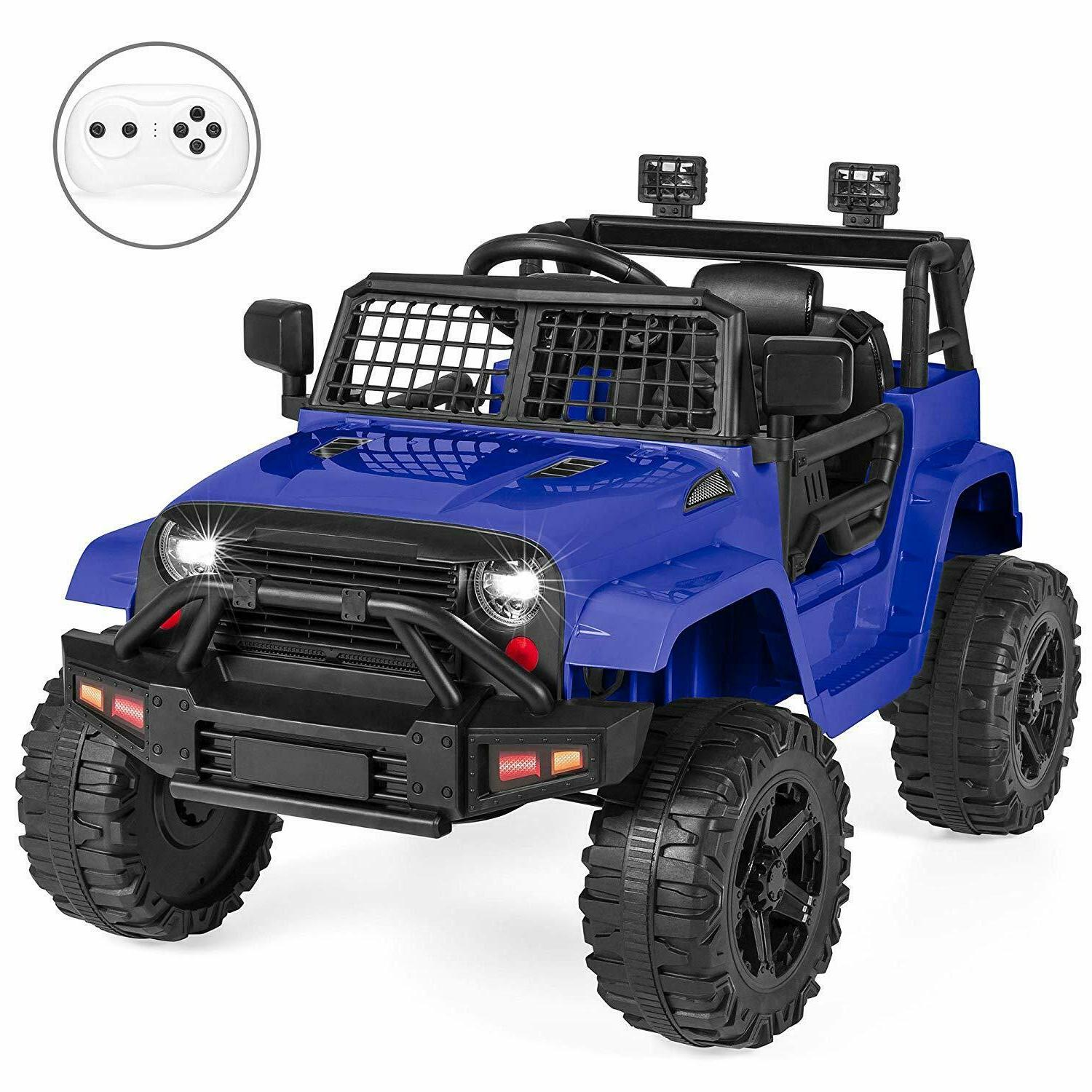 power wheels jeep ride on toy remote