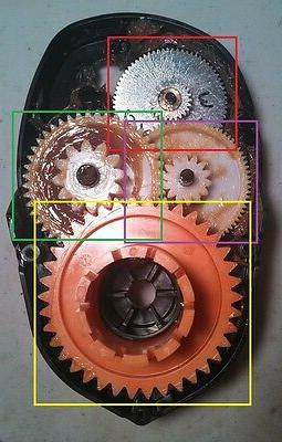 Power Wheels Third Gear for Escalade, Dune Racer,