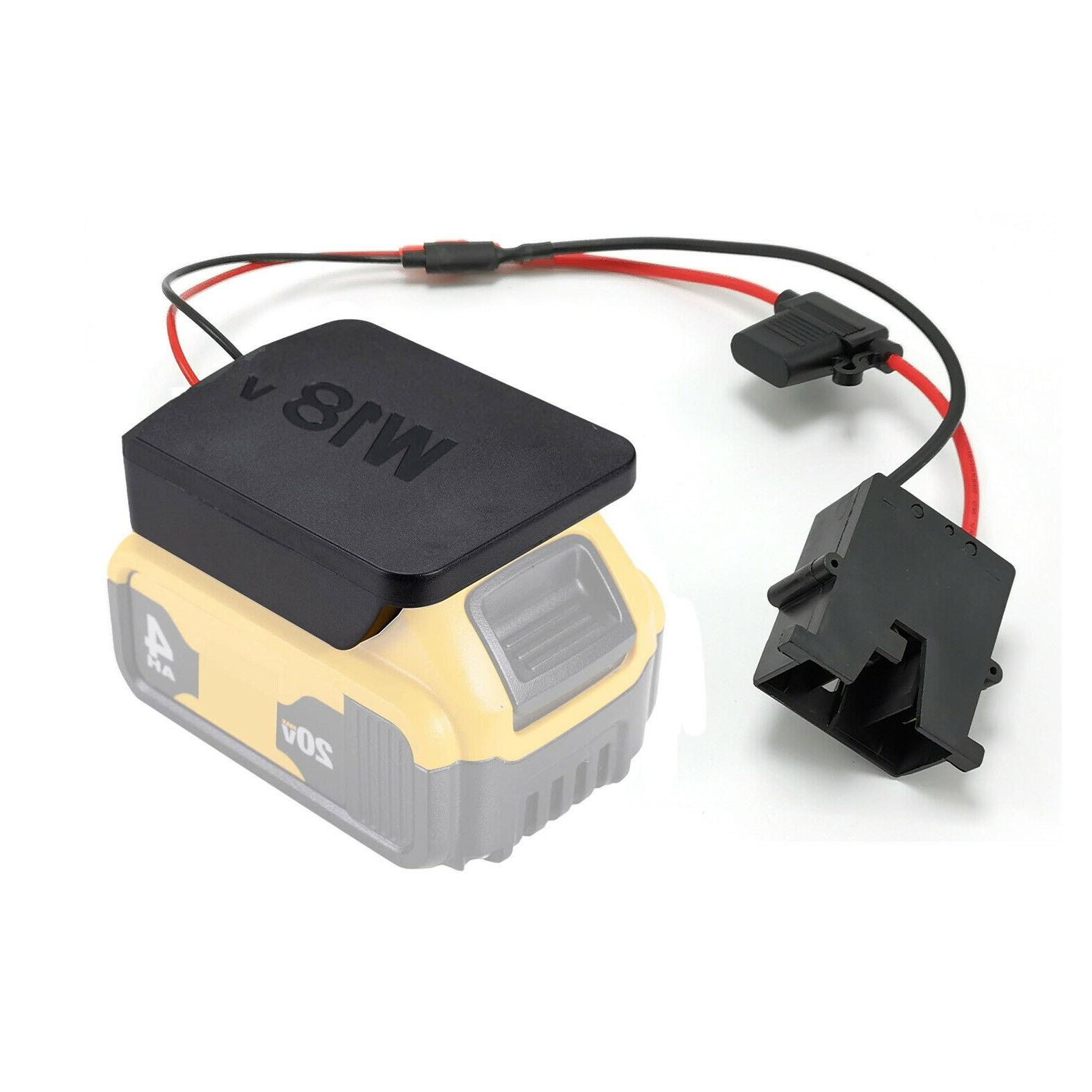 power wheels battery upgrade adapter with plug