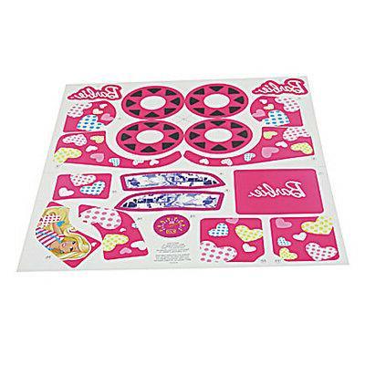Power Wheels W6215 Barbie Lil Quad Decal Label Sheet Fisher