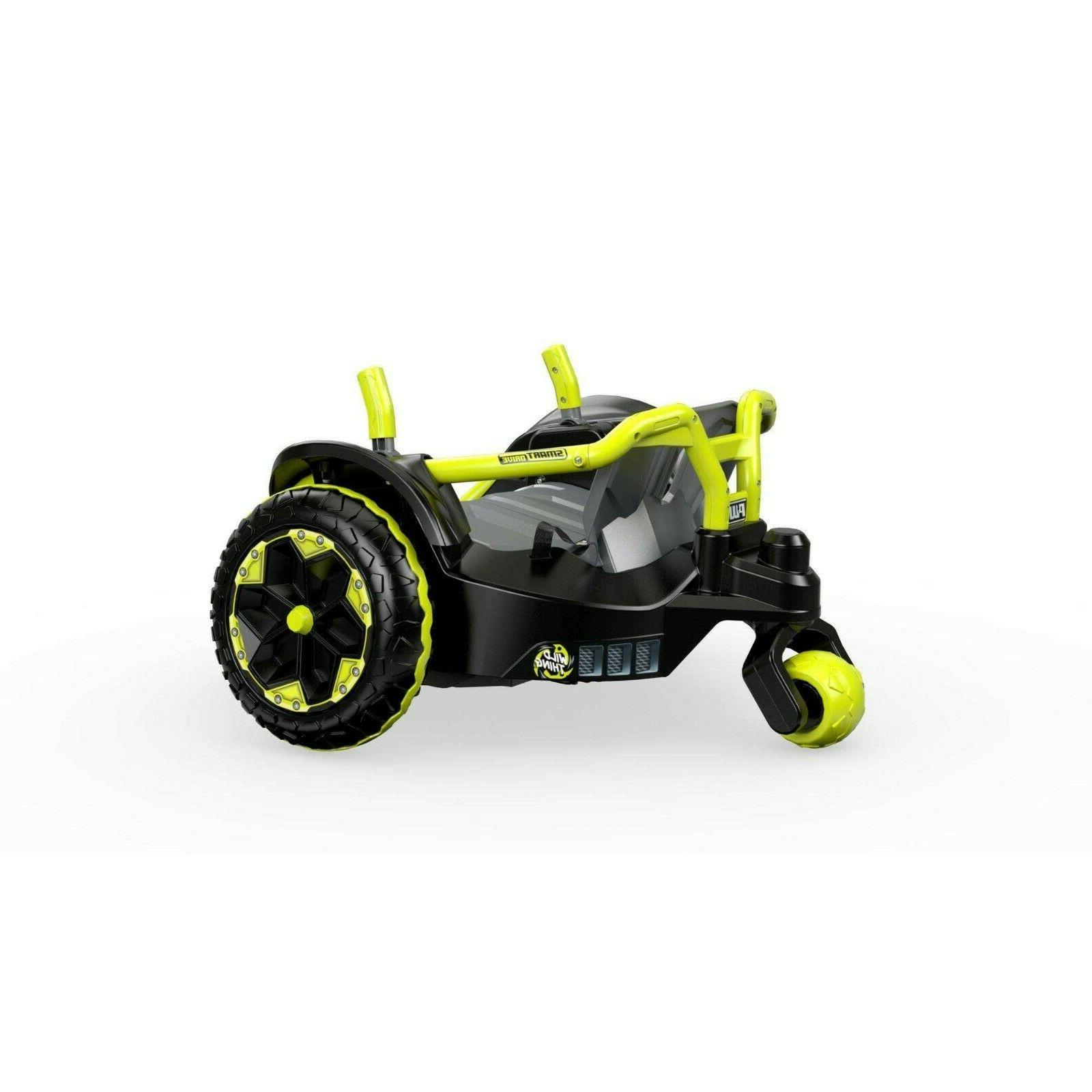 Power Thing Green Ride Vehicle Powered New!!