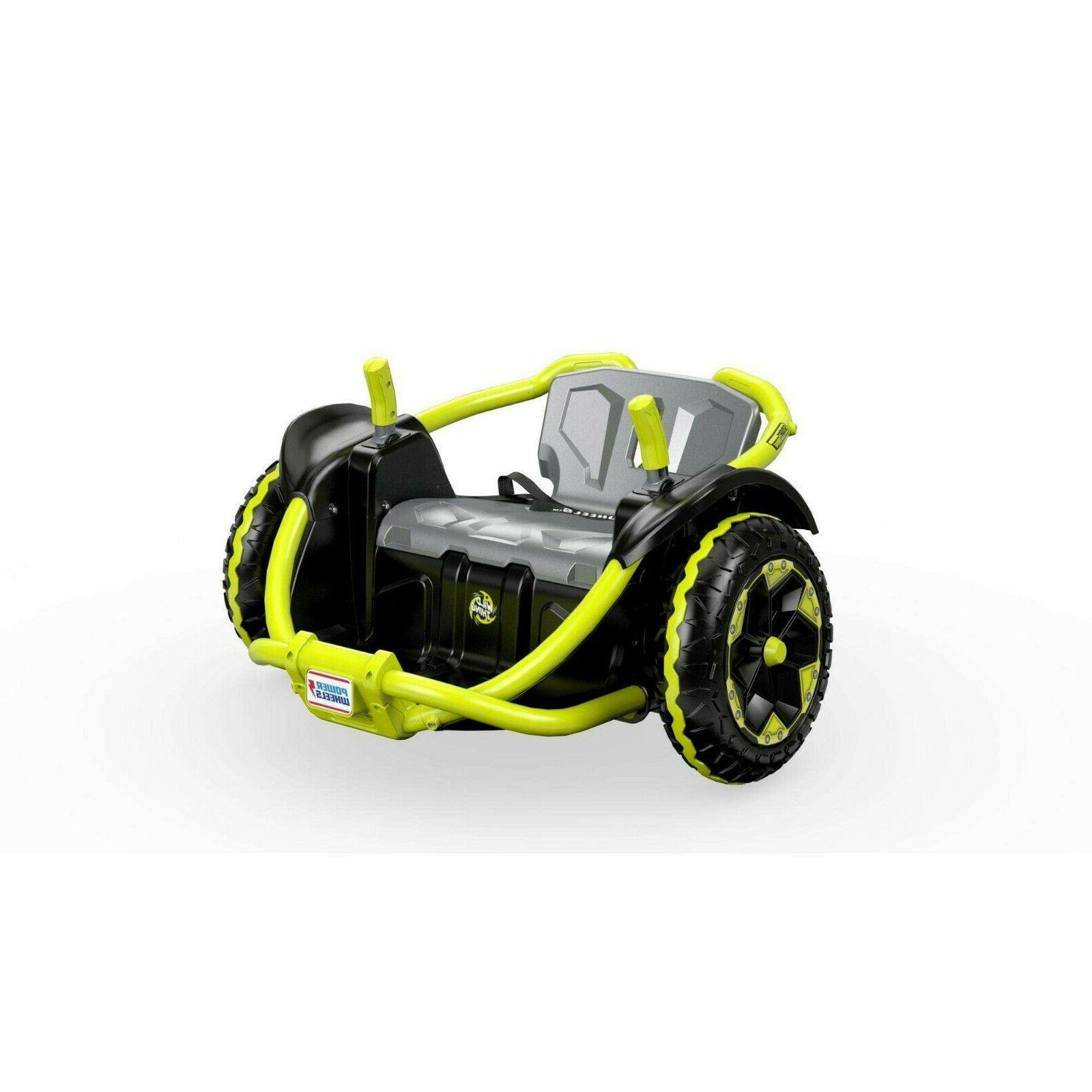 power wheels wild thing green ride vehicle