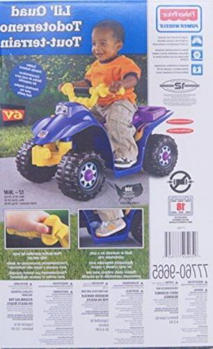 Quad Bike ATV Lil Ride Motor Battery