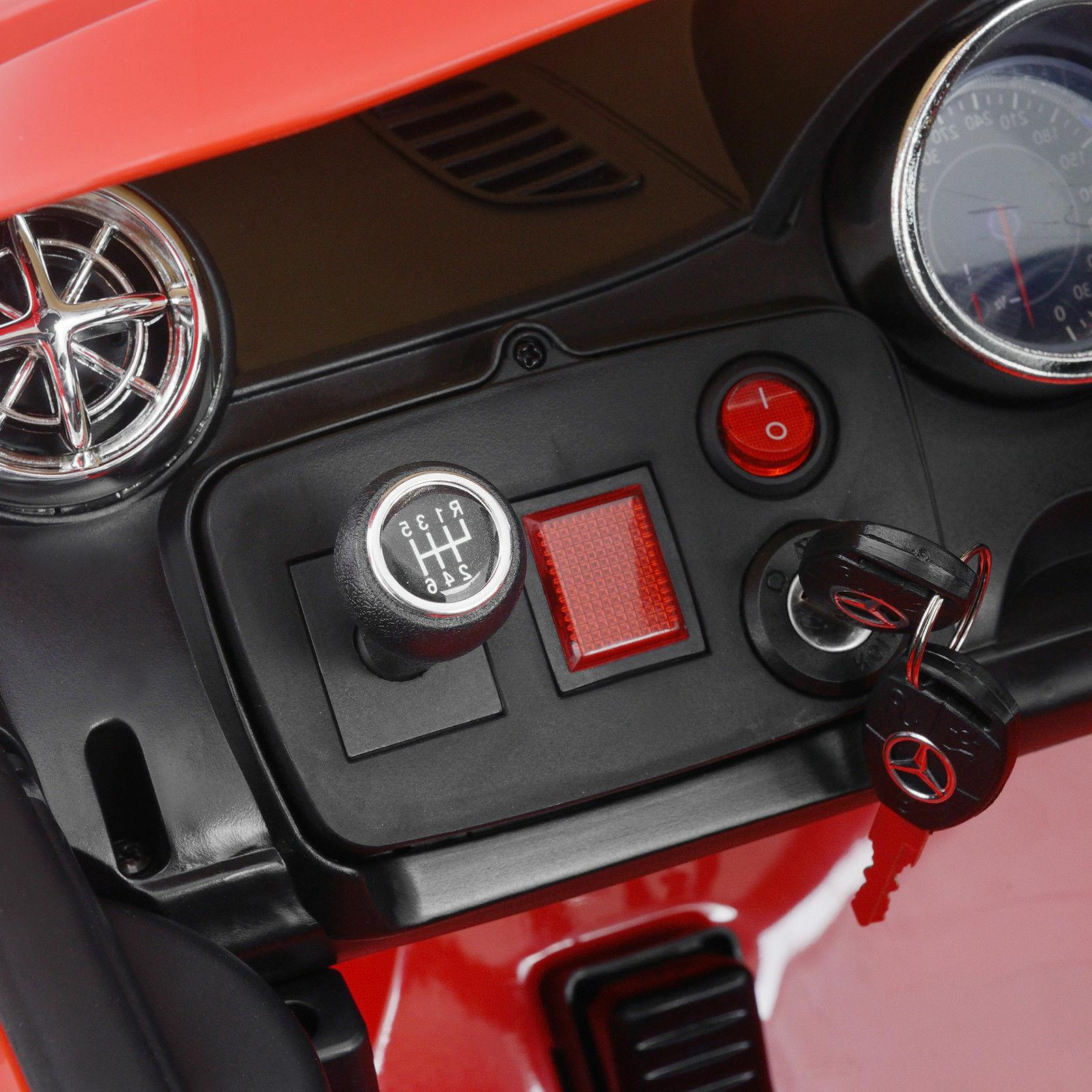 Kids Ride On Car Red Power Control