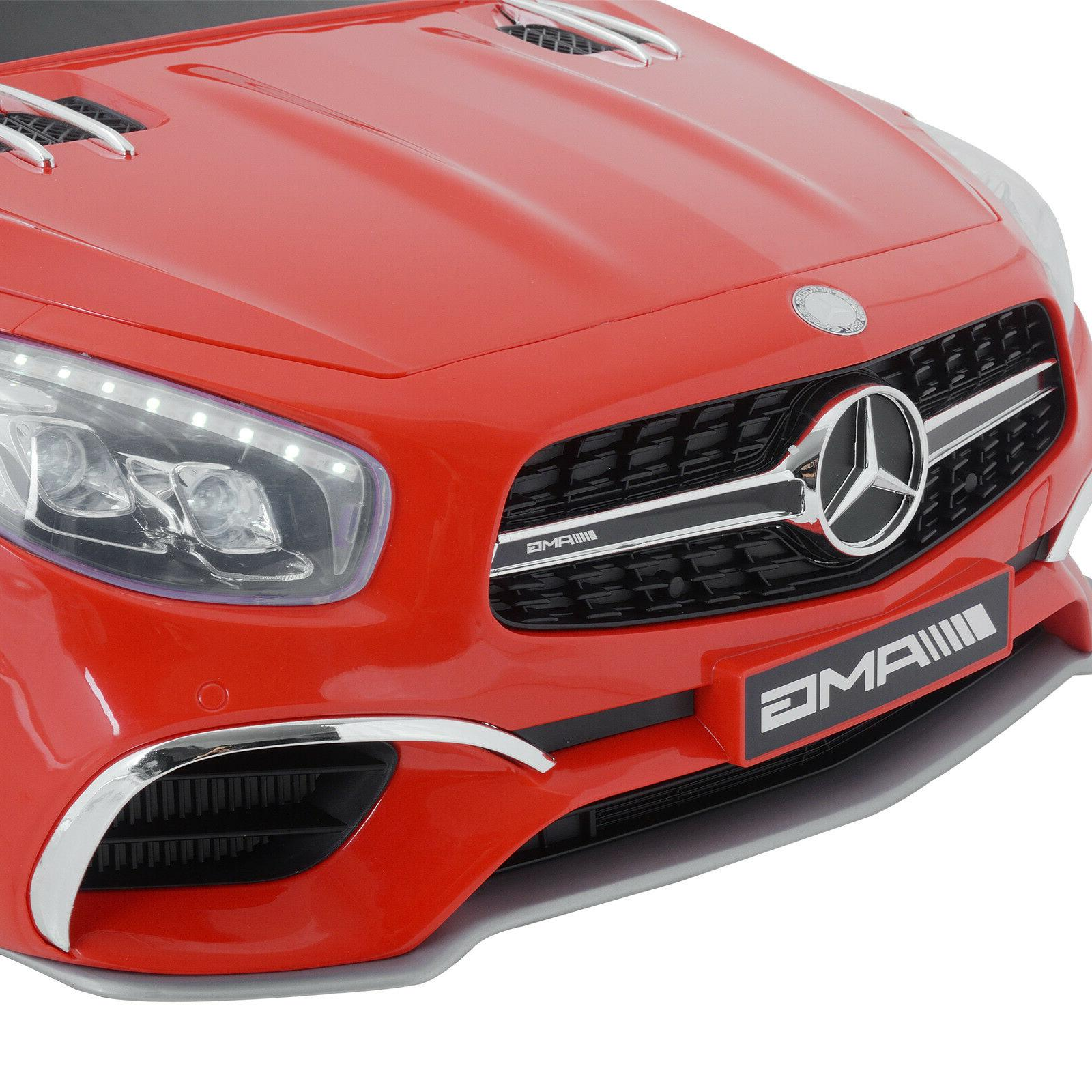 Kids Benz Ride On Car Red Power Control MP3