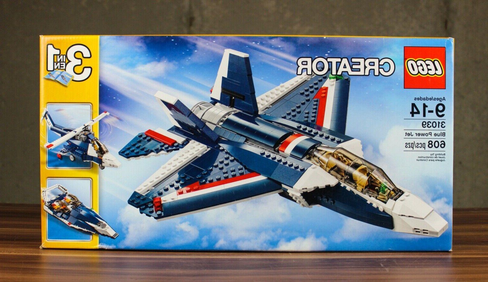 retired sealed creator blue power jet 3
