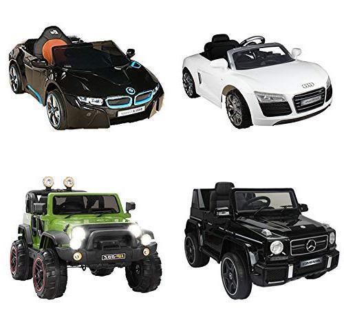 Ride Car 12V Kids Power for Lamborghini, Mercedes, BMW
