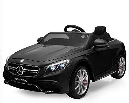 Best Choice Kids Licensed Mercedes-Benz S63 Coupe Parent MP3, Speeds Black