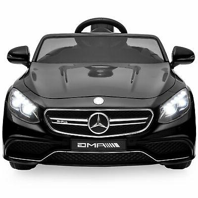 Best Choice Kids S63 Coupe Ride-On Car Parent Speeds Black
