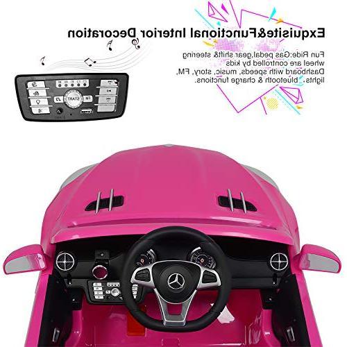 Uenjoy SL500 Ride Cars Kids Control & Spring Suspension Lock