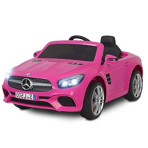 Uenjoy SL500 Car Cars for Kids w/Remote Spring & Lock