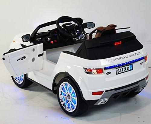 Ride On Car RANGE ROVER For Kids SX118 Toy With Ride On Power Kids