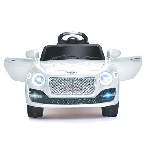 Costzon Ride 6V Powered Manual/ 2.4G Remote Control Wheel 3 Speeds, Bluetooth, MP3, Music, Horn Kids