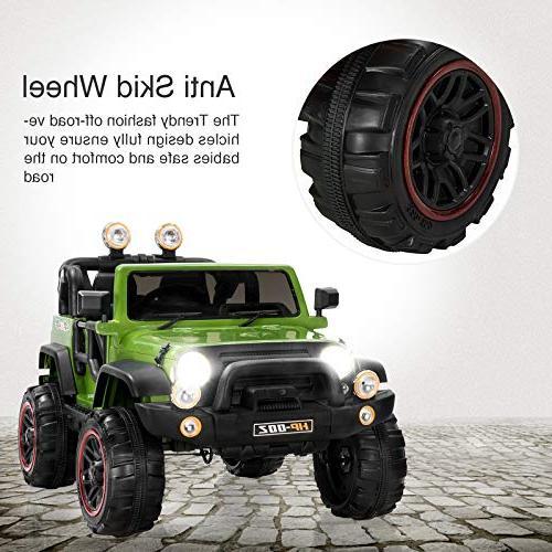 Uenjoy 12V Motorized for Speeds, Head HP-002, Green