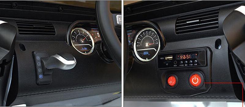 12V Jeep Remote Control AUX