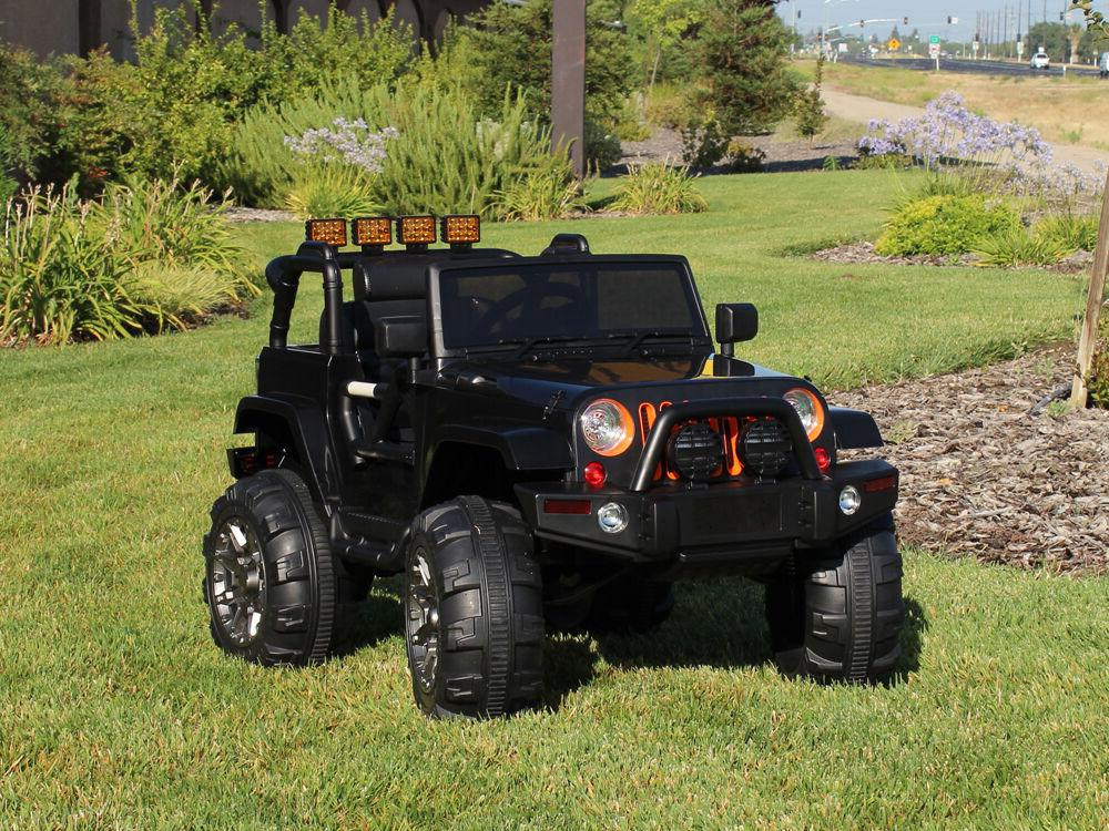12V Ride Jeep Truck Car RC Remote Control mp3 AUX and Music