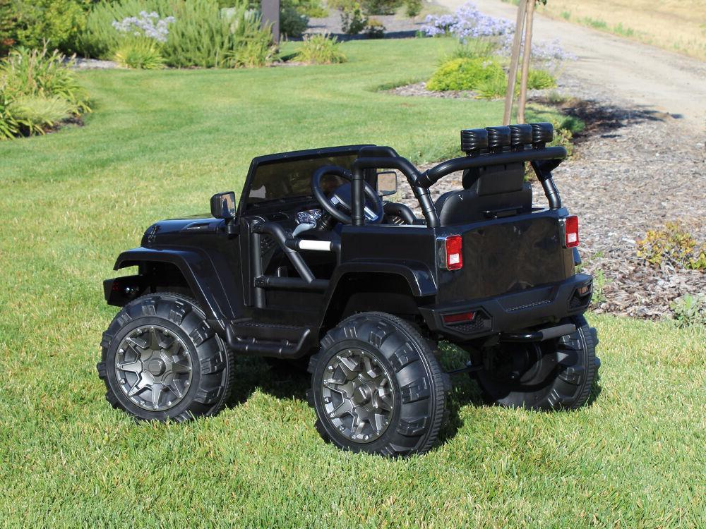 12V Kids Jeep Car Remote Lights mp3 AUX