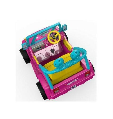POWER WHEELS Ride On Barbie Jeep Wrangler BRAND NEW