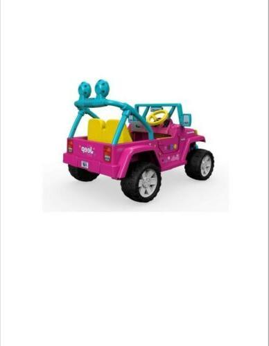 POWER WHEELS Ride Barbie Wrangler - BRAND NEW