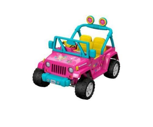 ride on barbie jeep wrangler brand new
