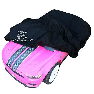ride on car cover for kids electric