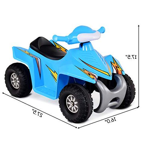 Costzon Kids Ride Quad, Electric Car Wheel Toddlers