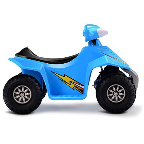 Costzon Quad, 6V Electric Car Vehicle, Wheel Power Toddlers