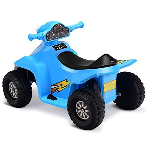 Costzon Quad, 6V Battery Power Electric Wheel Toddlers with