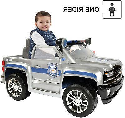 Rollplay Silverado Police Ride On