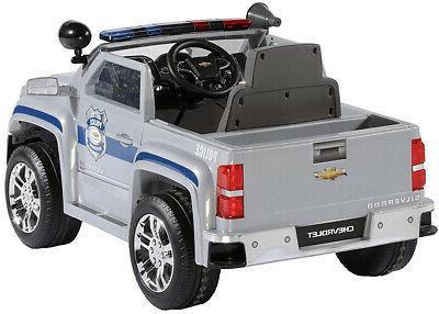 Rollplay Volt Silverado Police On Toy,
