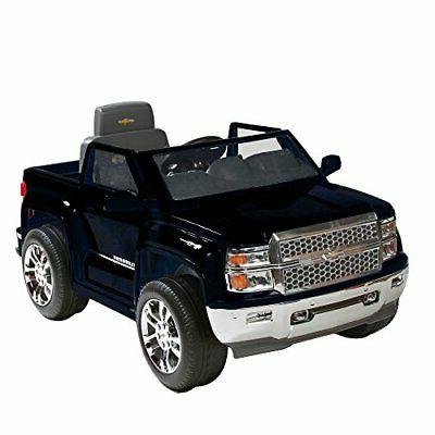 Rollplay 6 Volt Chevy Silverado Truck Ride On Toy, Battery-P