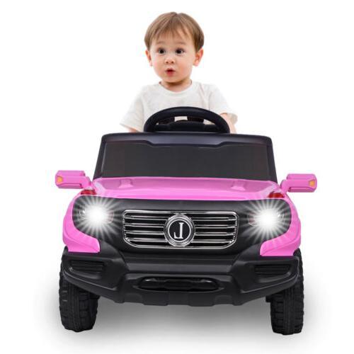 Kids Car Electric Wheels Wireless Remote Control Speed