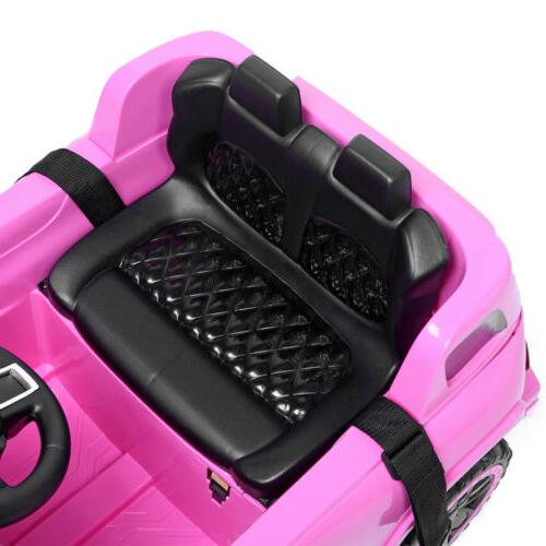 Kids Electric Wireless Control 3 Speed Pink