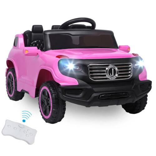 Kids Ride on Electric Wireless Remote Control 3 Speed