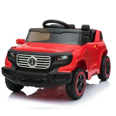 Safety on Car Electric 4 Remote Red