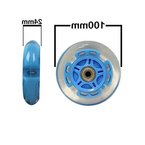 LED WHEELS BEARINGS 2-pack
