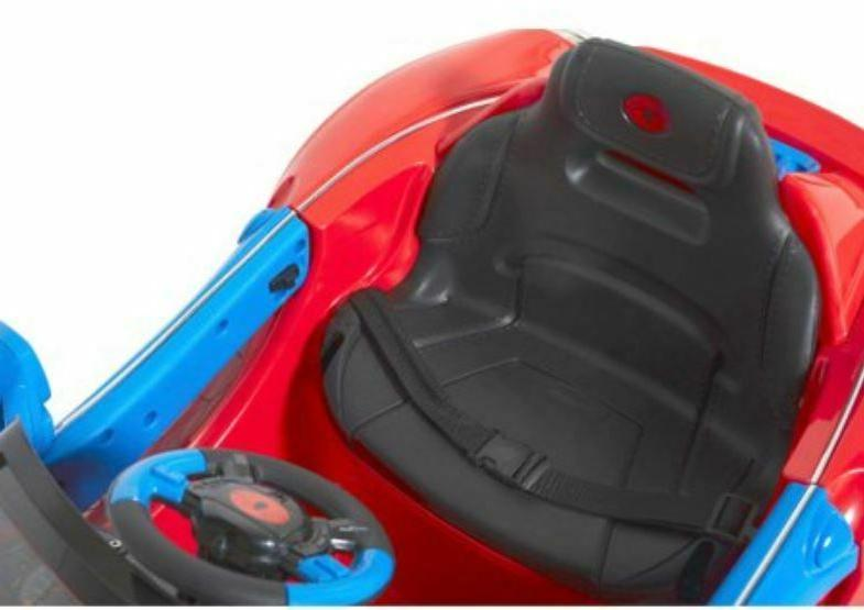 Spiderman Ride Wheels For Super Car Kids 6 Volt Battery