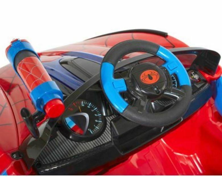 Spiderman On Wheels Boys Toy Super Car 6 Volt Battery