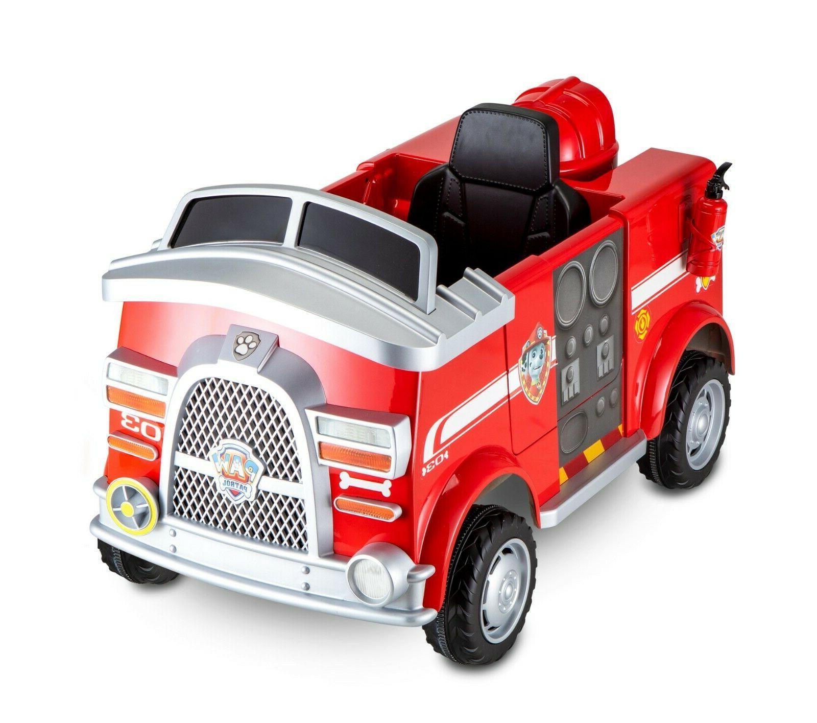Paw Patrol Ride On Toys Rideable Kids Boys